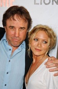 Mary Cate Olsen & Kevin Nealon (who looks basically like her man)