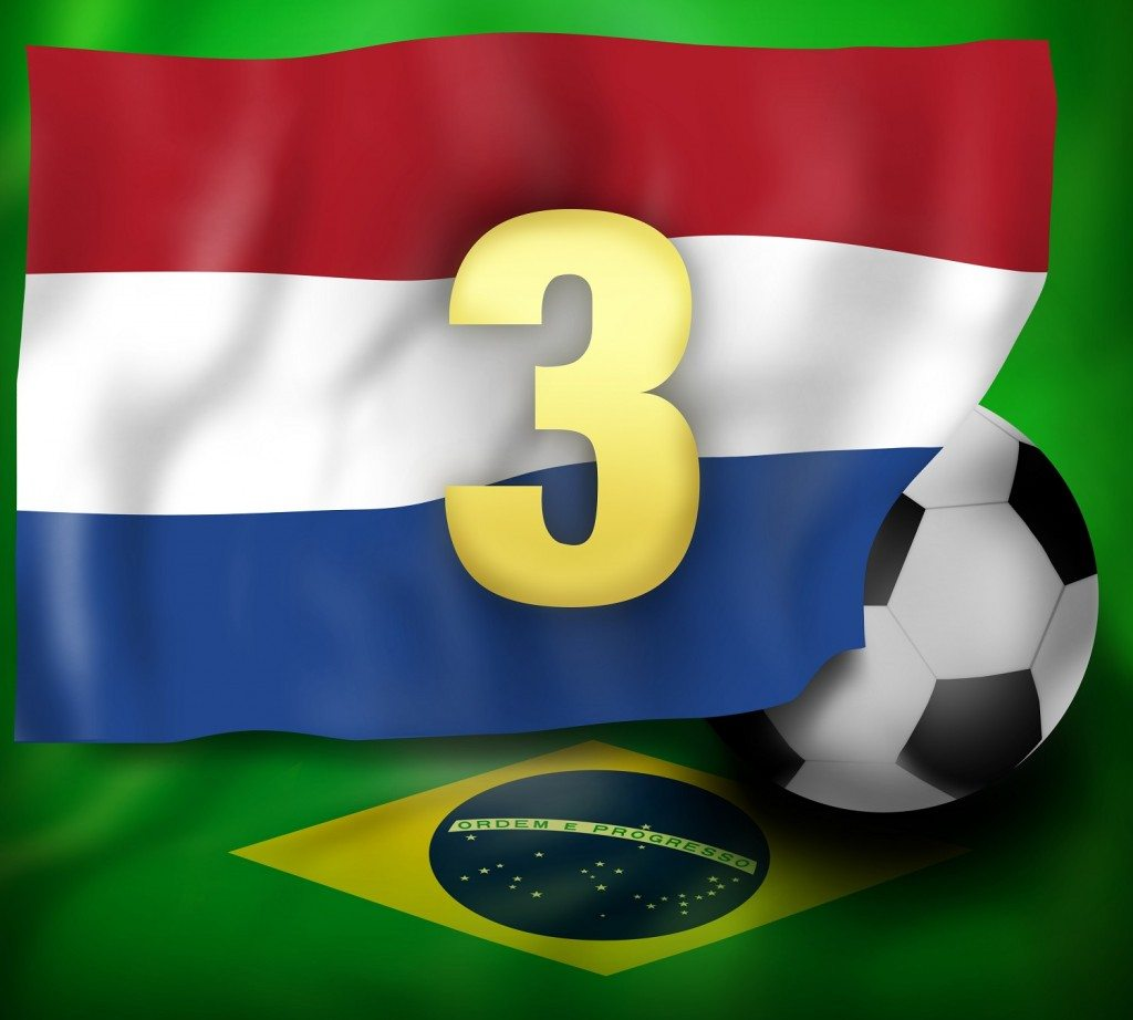 Netherlands 3rd Place Finish 2014 Worldcup