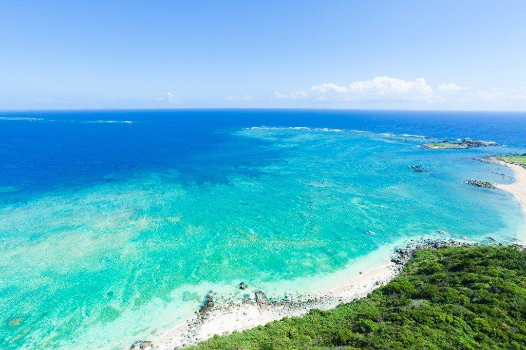 Coral Beach Okinawa Japan