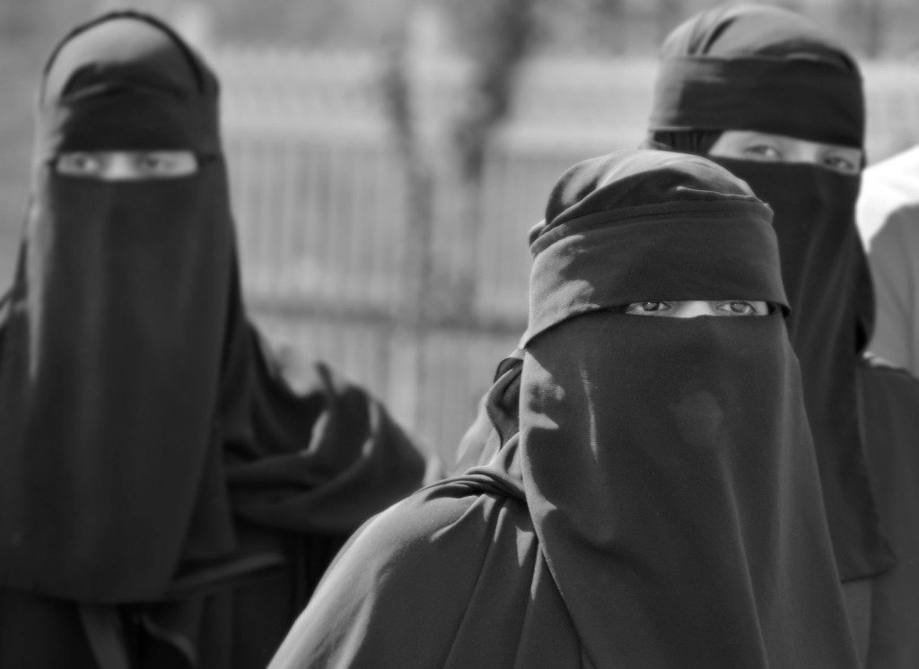 Women in Burkas. Fashion Victims or Ninjas?