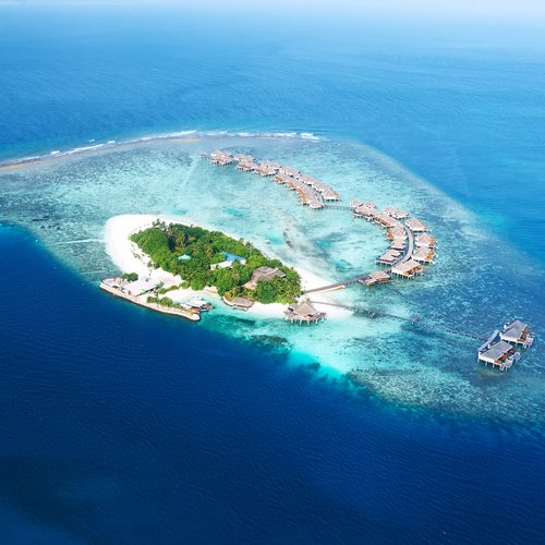 The Maldives. Beautiful beaches indeed.