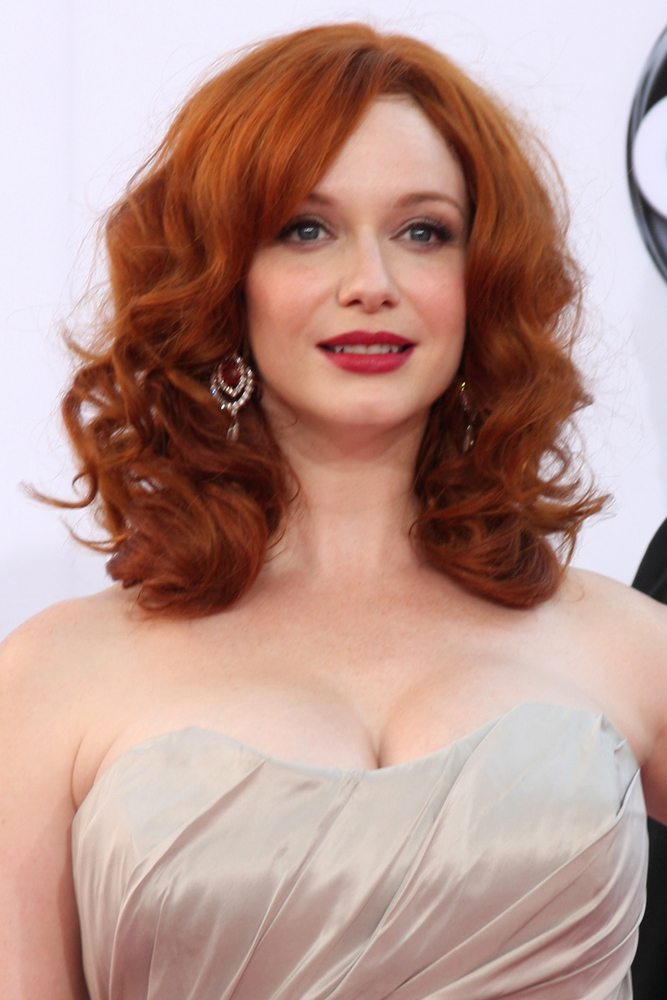 Christina Hendricks: 5th Most Beautiful Woman in the World.