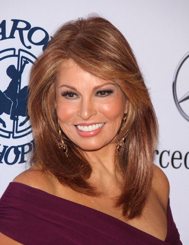 Raquel Welch: 2nd Most Beautiful Woman in the World. This photo is age 69, wow!
