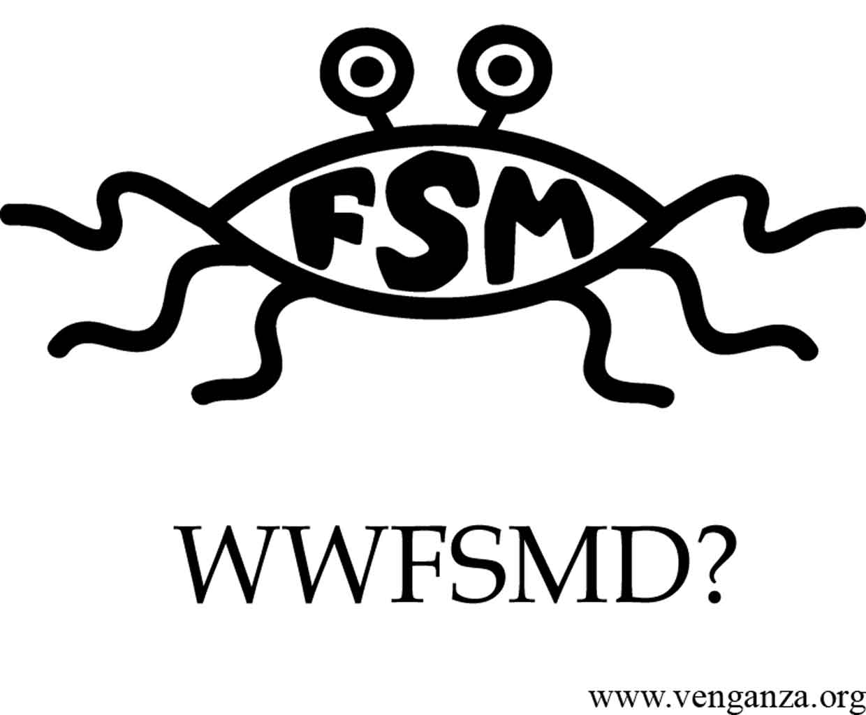 What Would Flying Spaghetti Monster.  He'd donate to Kiva.org of course.