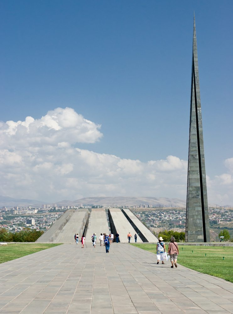 The 100th Anniversary of the Armenian Genocide will take place April 23-24 in 2015. This is the Armenia Genocide Memorial in Yerevan, Armenia