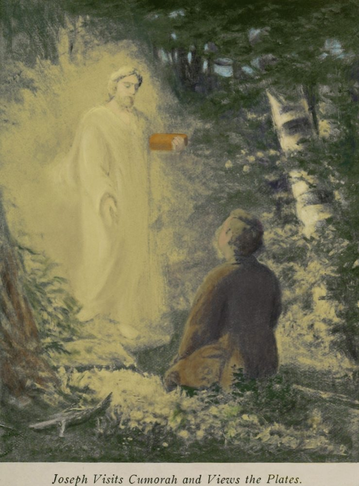 Joseph Smith visited by the Angel Moroni