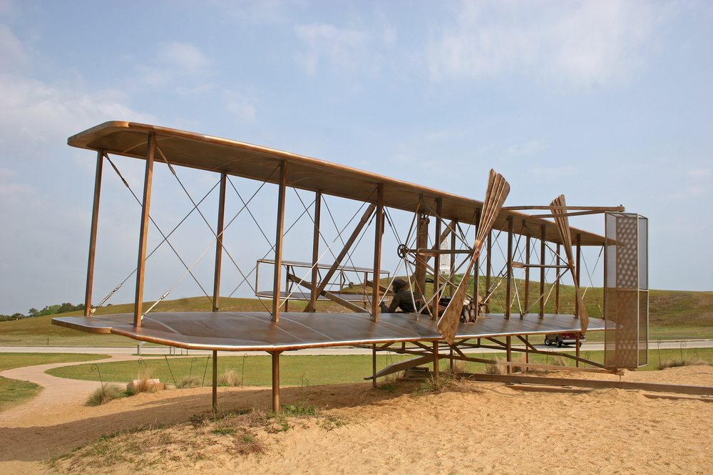 The Smart and Final Money is the Wright Brothers and Kitty Hawk