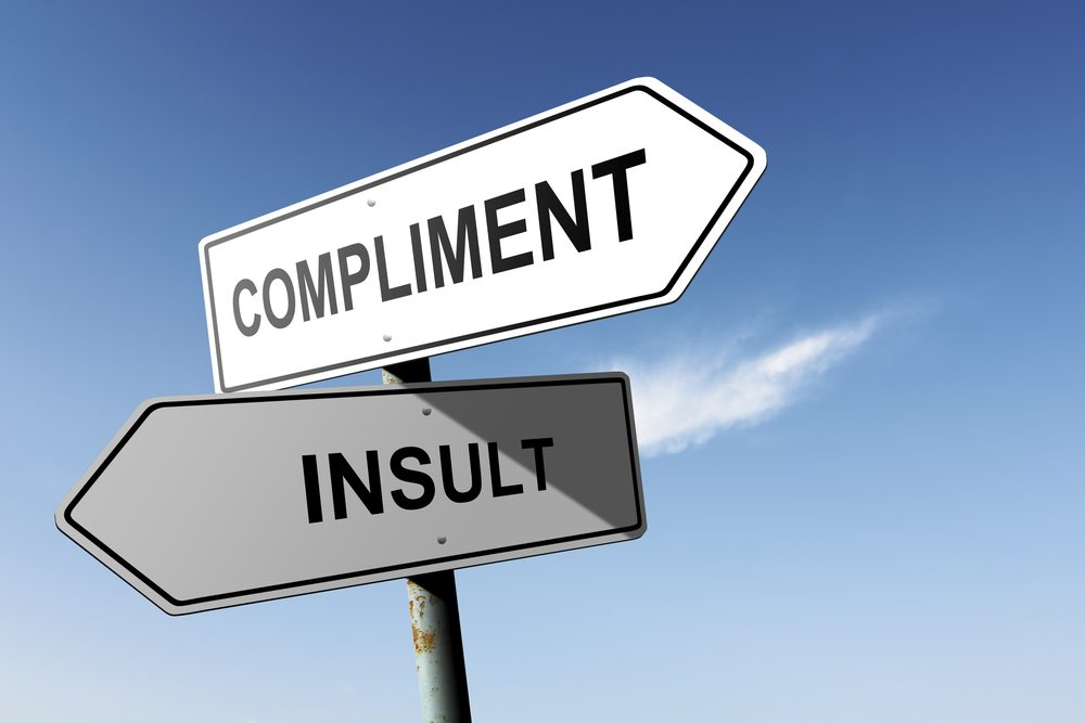 There is a fine line between being complimentary and creepy.  Keep your compliments classy & sassy but do not overdo it.