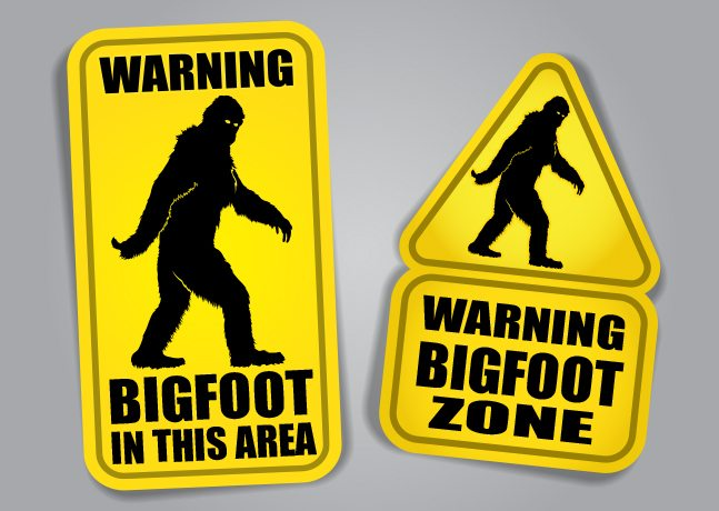 Bigfoot is real.  I take it back.