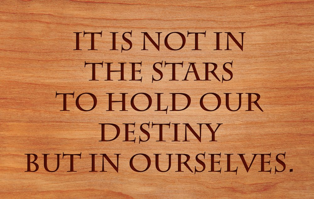Follow your destiny to be happy. It's within you not without.