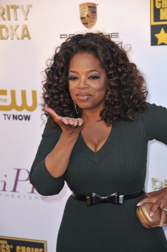 Oprah is an unadulterated philanthropy machine.