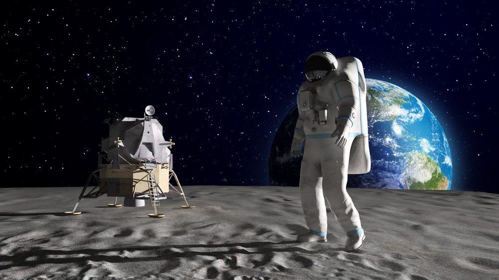 The moon landing happened.  Get over it.