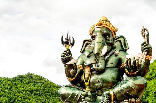 Ganesha feels left out.