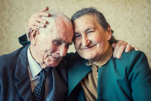 Marriage is forever.  For some it's longer than others. This couple married 80 years.
