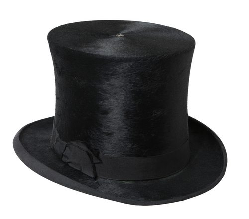 President Abraham Lincoln used his top hat to hold important documents. More than a fashion statement