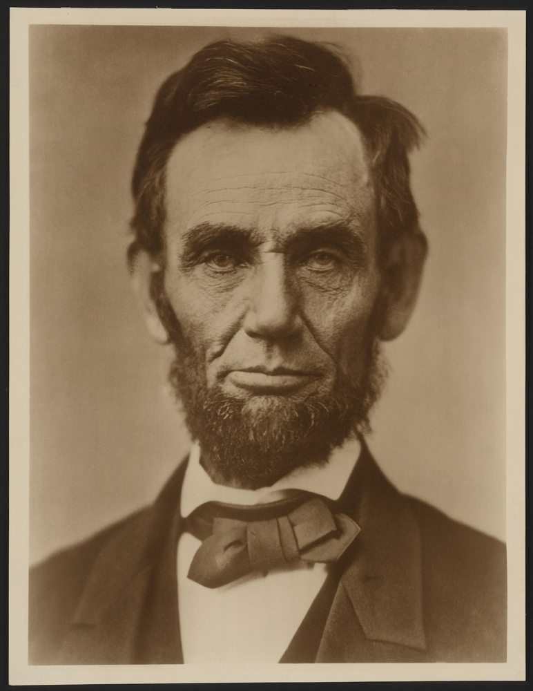 President Abraham Lincoln was a beard man. Fear the beard.