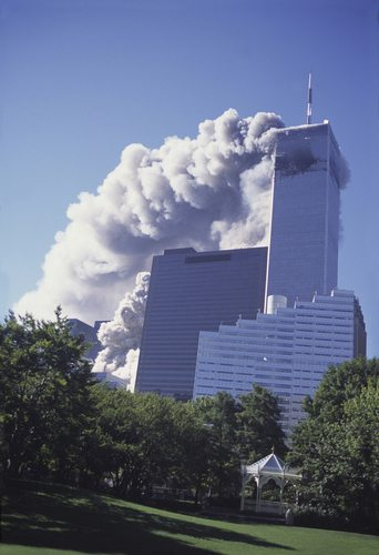 A military plane hit the Twin Towers on September 11, 2001