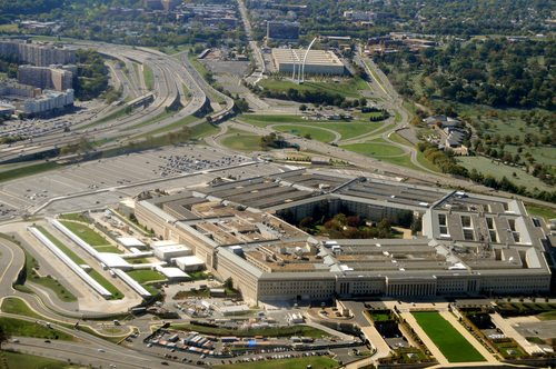 After the September 11th attack the Pentagon had strange marks