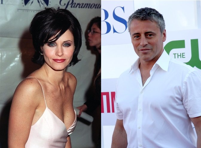 Courtney Cox and Matt Leblanc were supposed to be the romantic leads