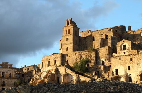 Craco, Italy a freaky, freaky Ghost Town