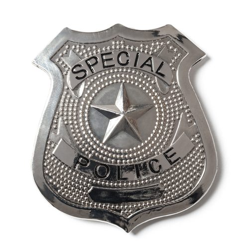 Elvis Presley was a member of the Special Police.  The special really stoned Police.