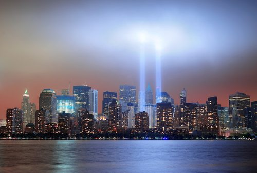 On September 11th the twin towers in New York City were brought down by controlled demolition