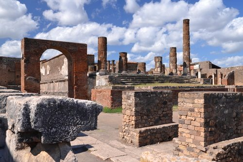 Pompeii, Italy or what's left of this Ghost Town after the volcano's wrath