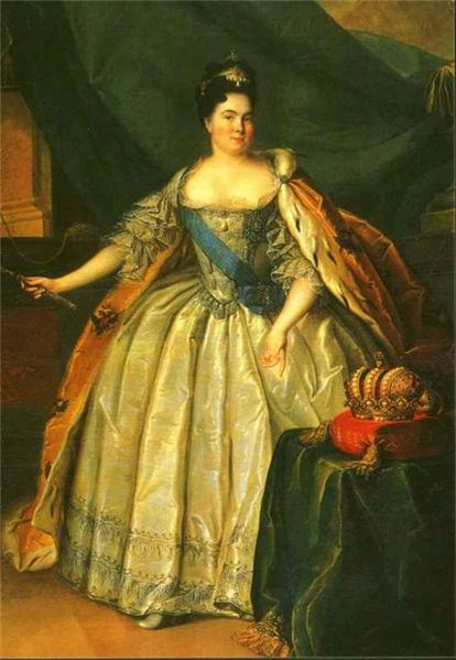 Catherine the 1st of Russia would not be denied.  She was a rags to riches success