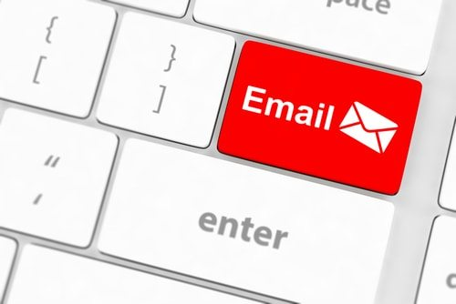 E-mail was invented by a young nerd child.