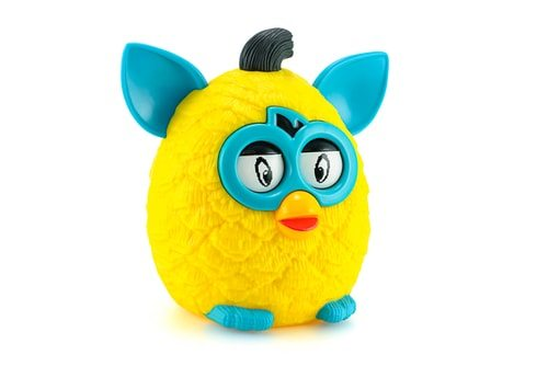Furbys are designed to appeal to your emotions.  They just scare me.