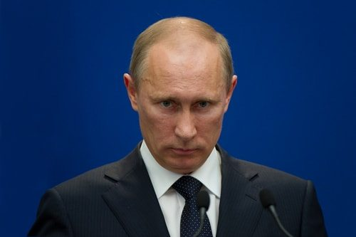 Vladimir Putin, not to be trifled with