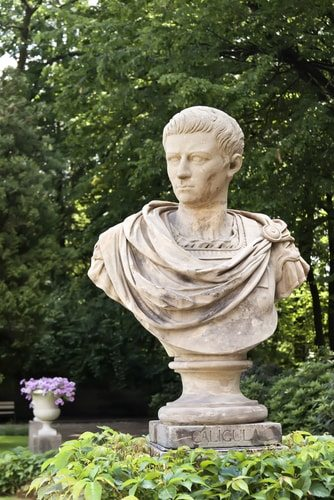 Caligula,  his excess and ego knew no bounds