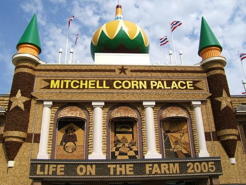 Corn has its own palace