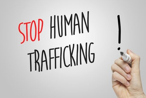 Prostitution should be illegal because it causes human trafficking