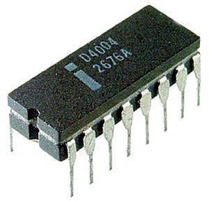 Intel 4004 Microprocessor