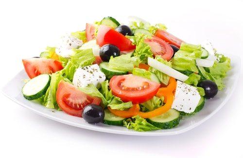 Salad is murder!