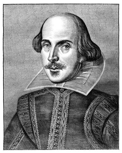 Shakespeare spelled his name all funky