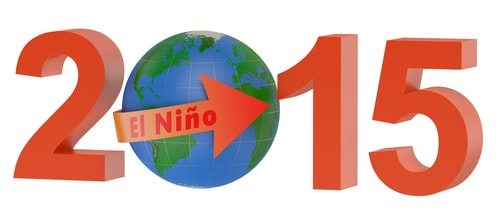 El Nino 2015: predicted to be one of the strongest ever!