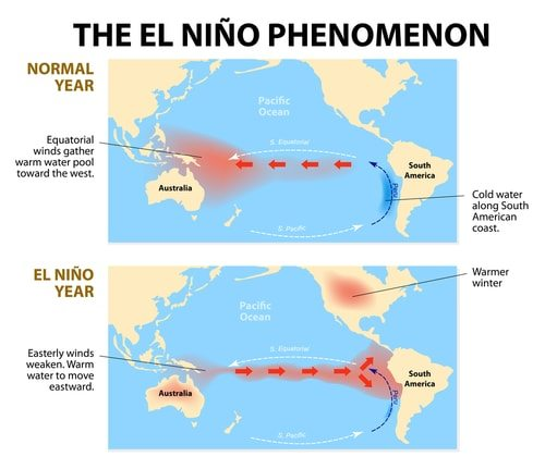 The El Nino Phenomenon explained in a nice little graphic