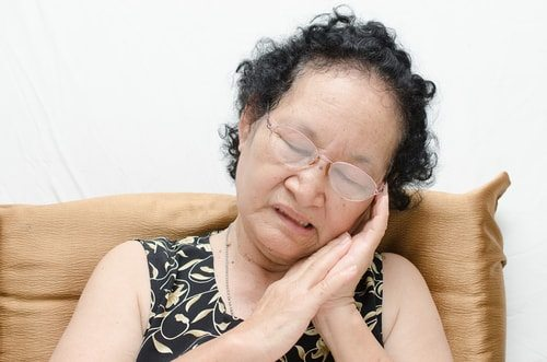 If you're getting a bit long in the tooth you may develop a snoring problem