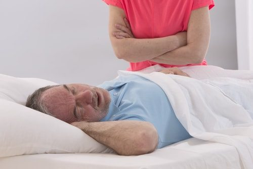 Maybe your snoring is caused by sleeping on your back.