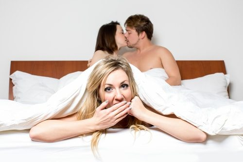 Polygamy prevents adultery. No more sexy sneaking around!