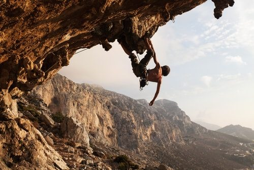 Take up mountain climbing. No time to be bored when you're clinging on for dear life.