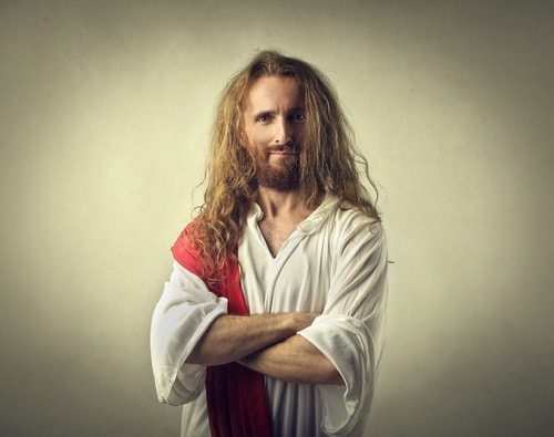 Hearsay? You wouldn't say that to sassy, playful Jesus.