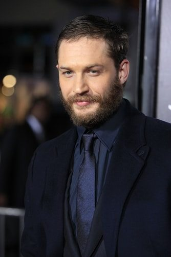 Tom Hardy is an only child.