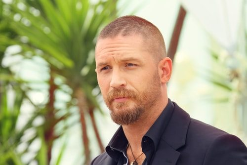 Tom Hardy starred in Band of Brothers.
