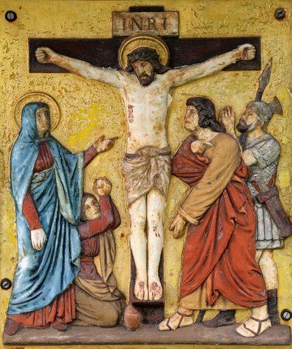 The Twelfth Station of the Cross, Jesus Dies.