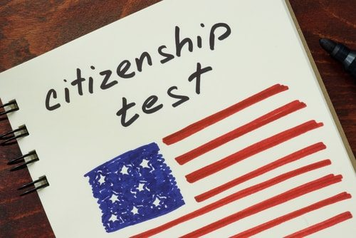 Immigrants should learn english in order to study for the U.S. Naturalization Test!