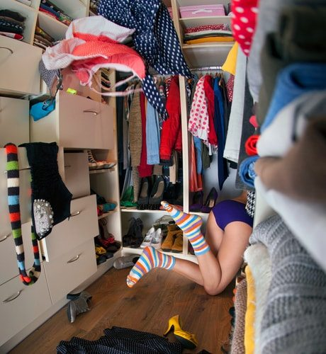 People are so disorganized. They need your help. Purple underwear is optional.