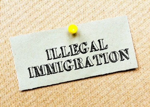 Illegal immigration no big deal right. I mean who even thinks about it these days.